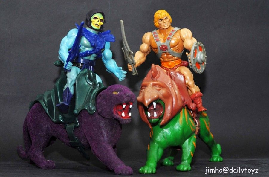 He-Man and the Masters of the Universe Mattel (1982–1988)