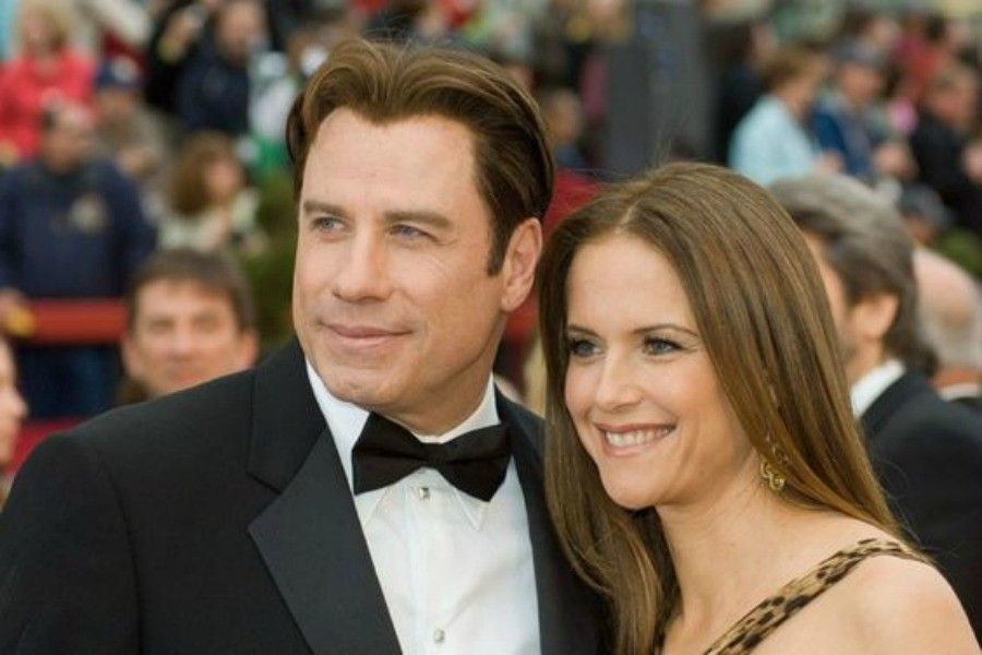 Academy Award presenter John Travolta and Kelly Preston arrives at the 79th Annual Academy Awards at the Kodak Theatre in Hollywood, CA, on Sunday, February 25, 2007.