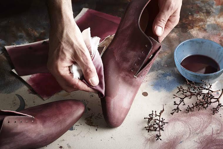 Le scarpe al vino