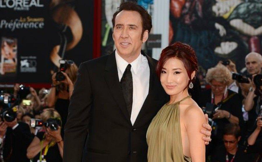 Nicolas Cage e Alice Kim