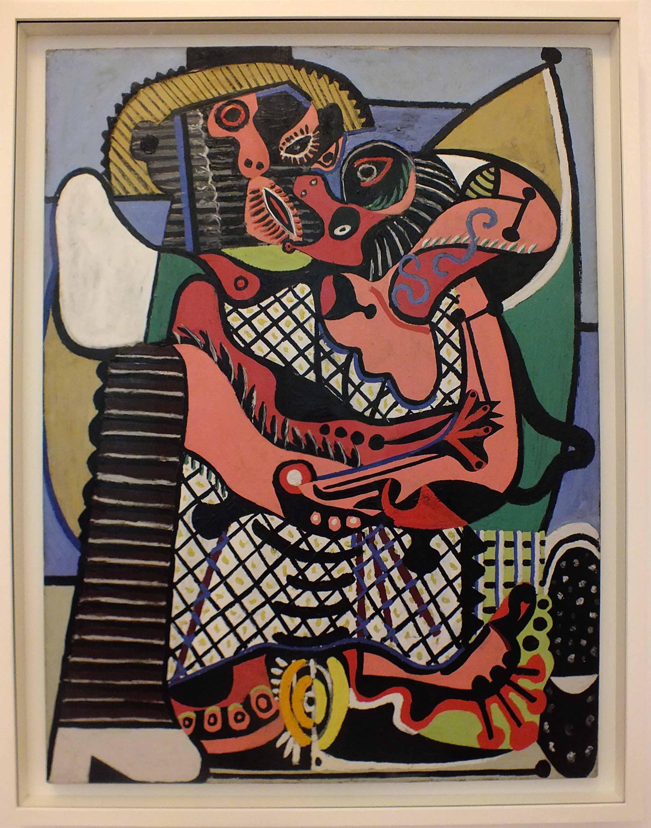 Il bacio. Pablo Picasso. 1925