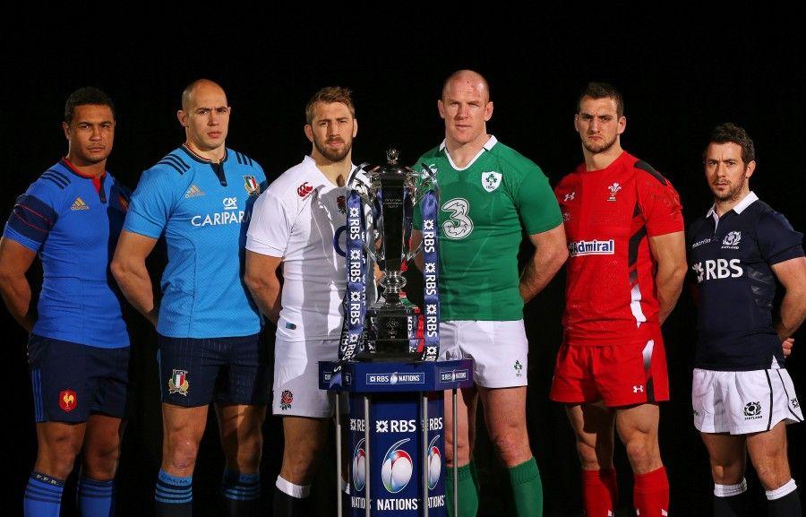 I capitani del 6 Nazioni di rugby