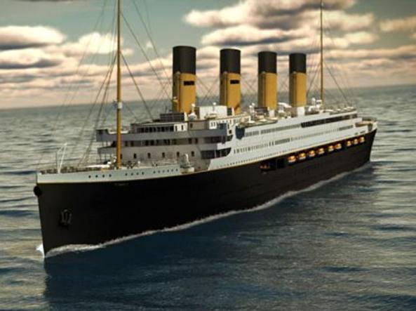 Titanic II. Fonte corriere.it