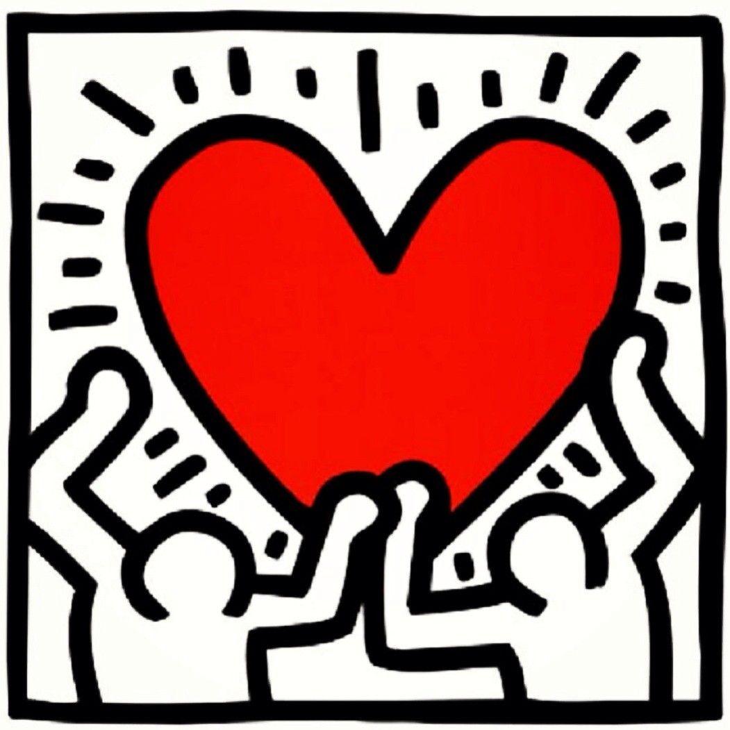 Heart. K. Haring. 1988