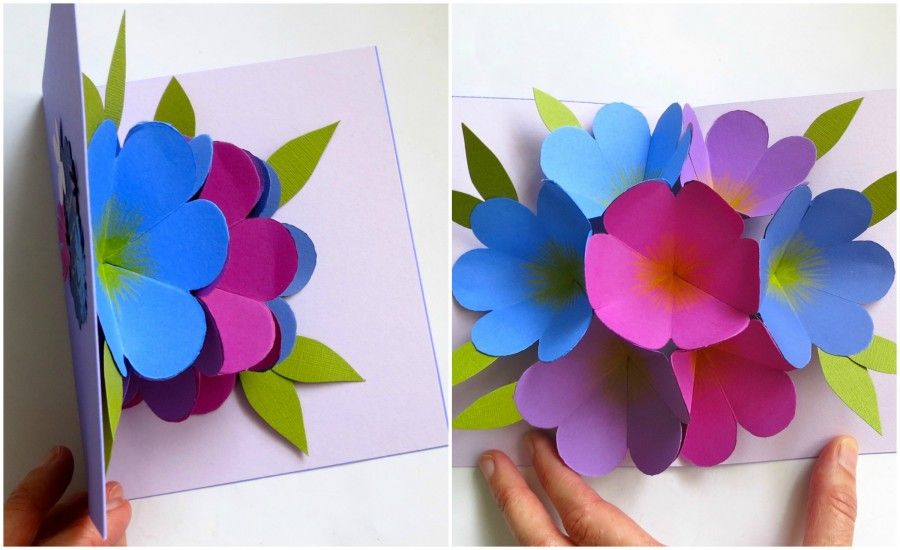 flower pop up
