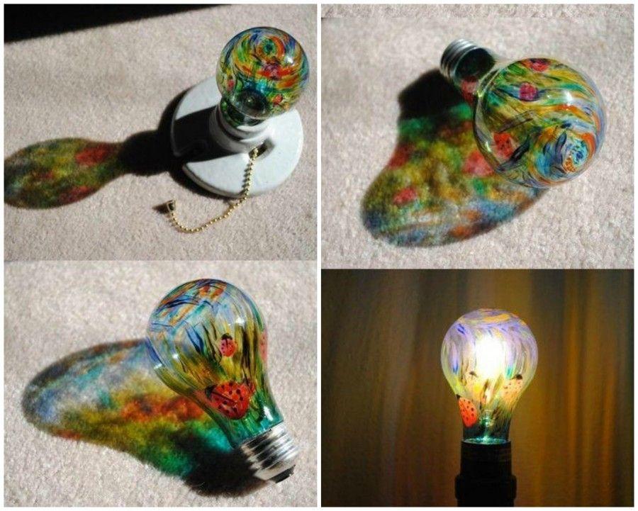 Lampadina colorata