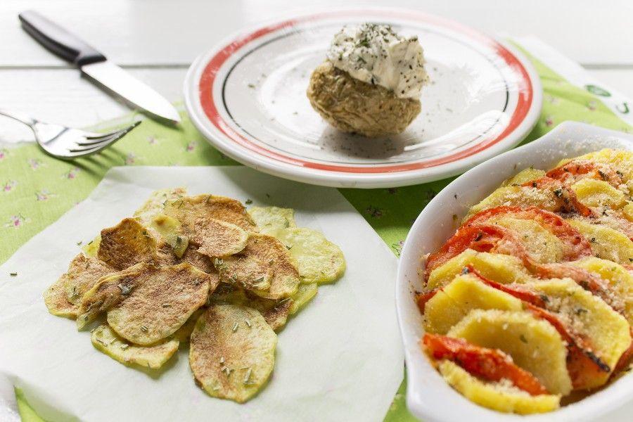 3 ricette per cucinare le patate al microonde in meno di - Ricette per cucinare ...