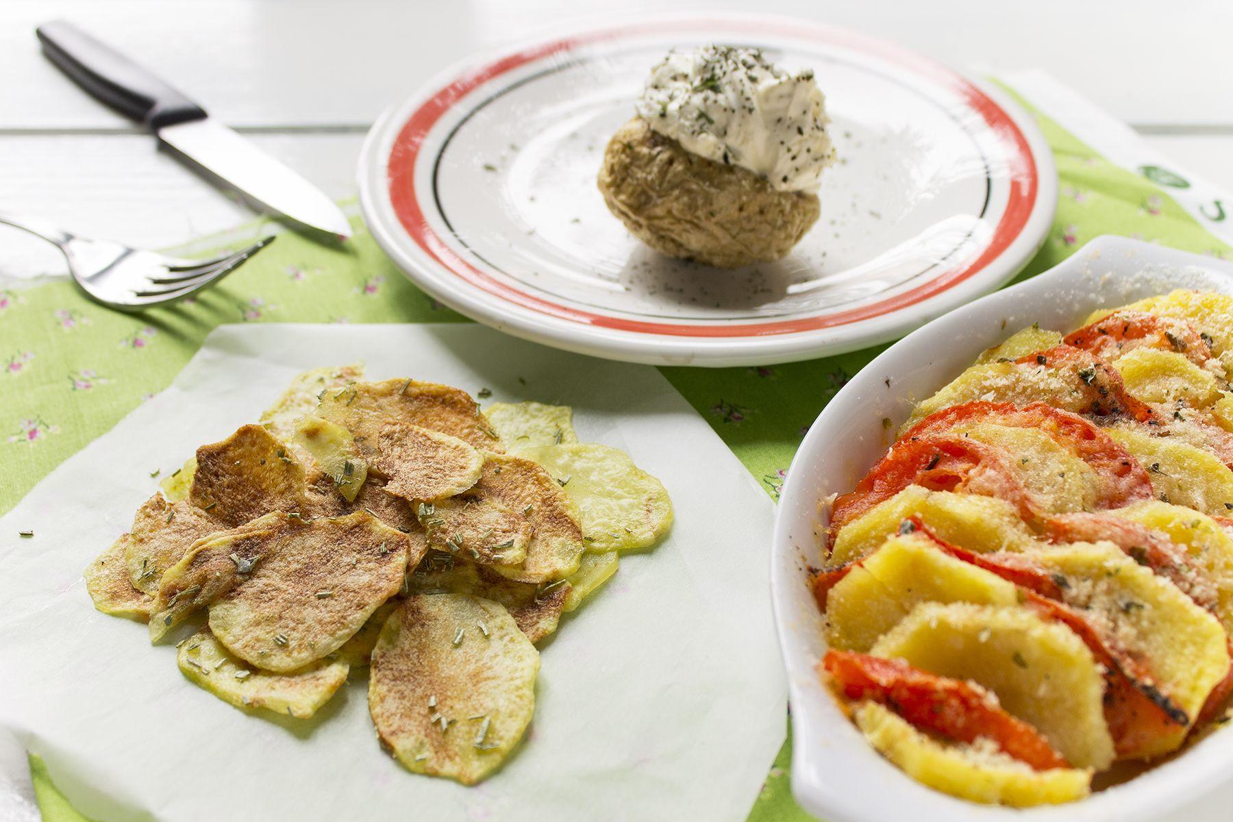 3 ricette per cucinare le patate al microonde in meno di 15 minuti