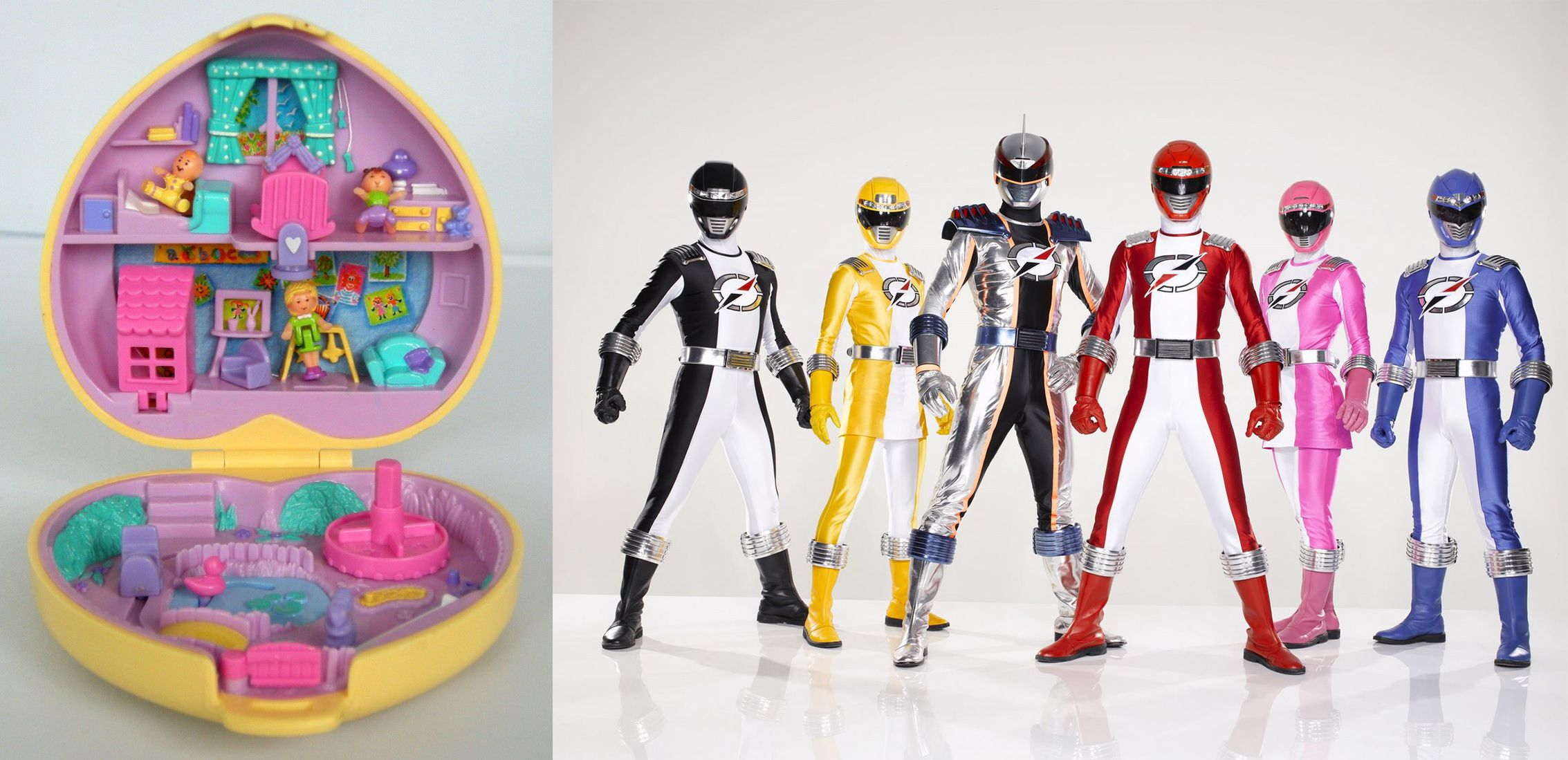 Polly Pocket vs Power Rangers