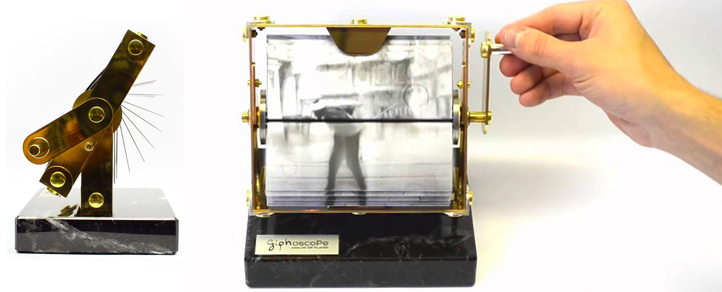 Giphoscope, l'intrigante gif player analogico