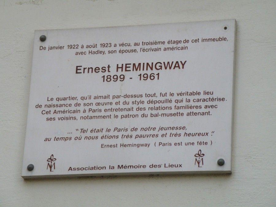 Itinerario di Hemngway a Prigi