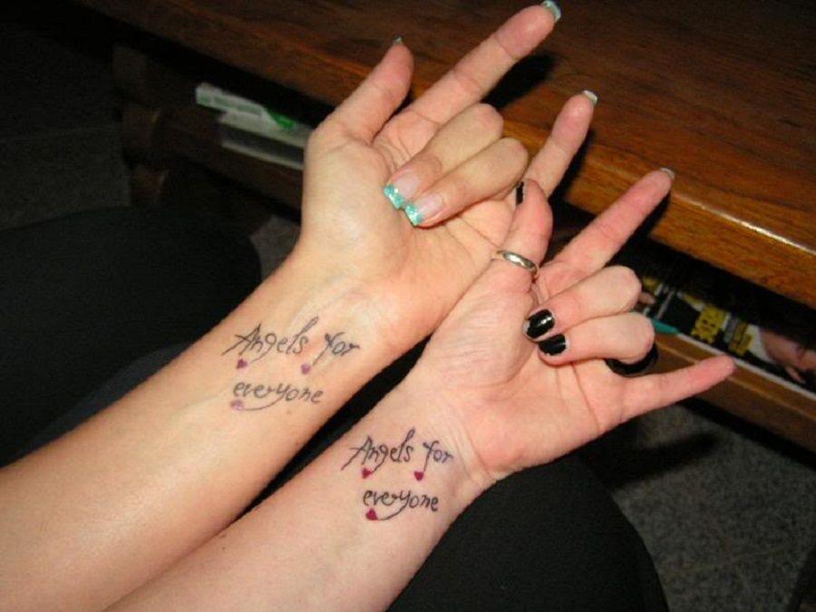 10 Tatuaggi Per Celebrare L Amicizia Bigodino