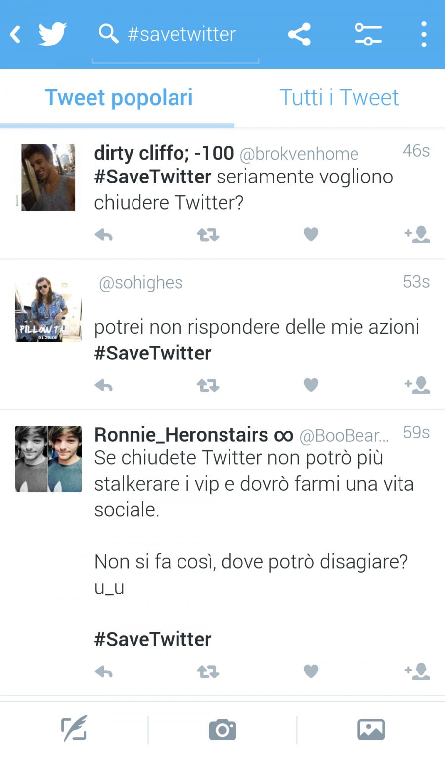 #savetwitter