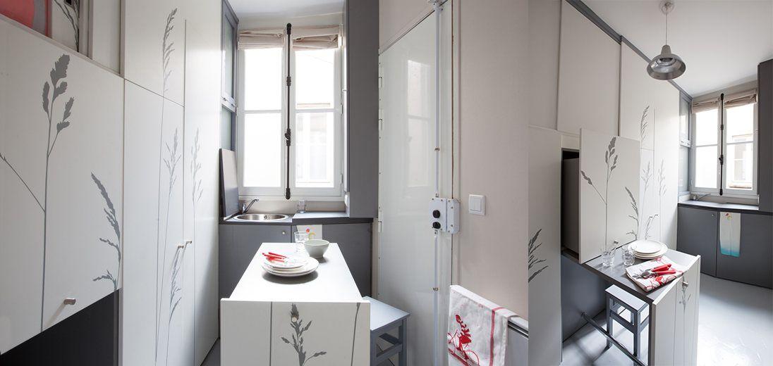 Un micro appartamento a Parigi
