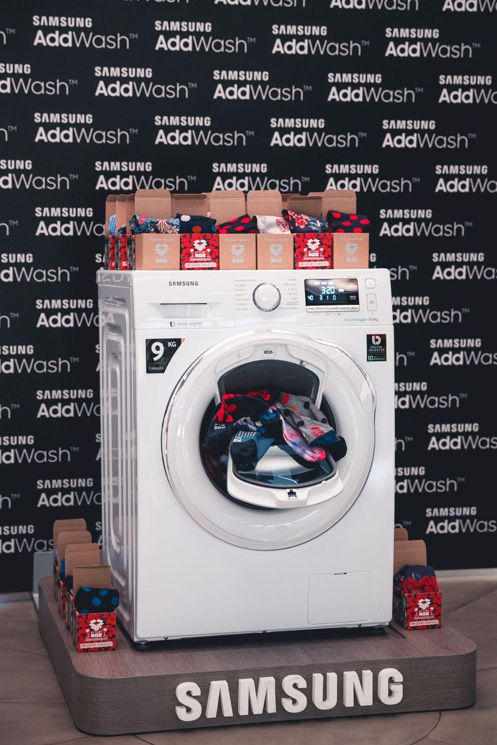 Lancio nuovi prodotti Add Wash presso il samsung district di Milano - ph. Andrea Mariniello