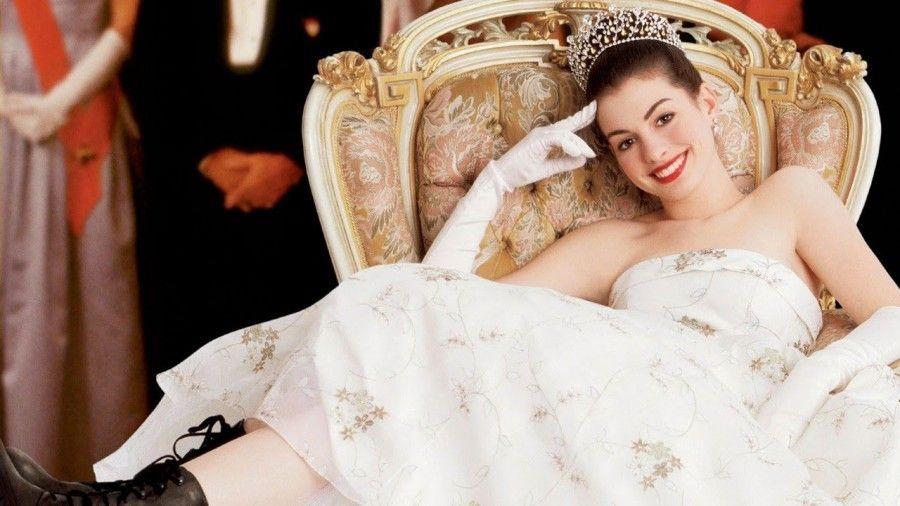 Anne Hathaway in Pretty Princess_