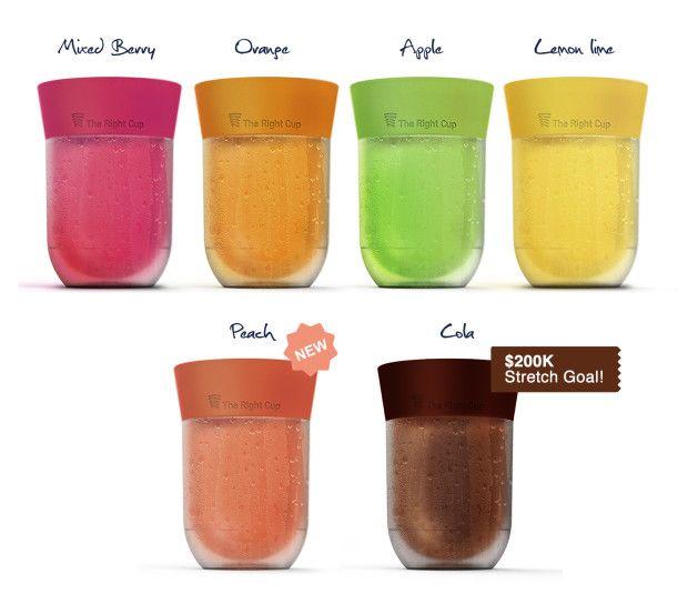 Bicchiere che sa di frutta