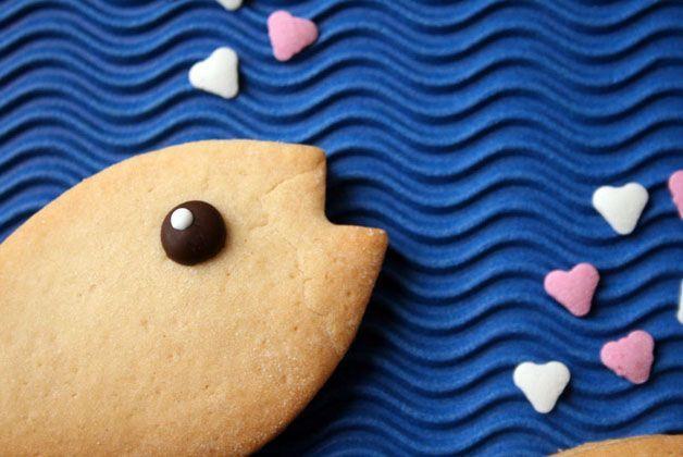 Biscotto a forma di pesce