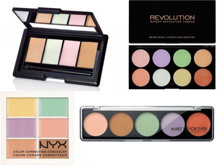 Proposte Palette Color Contouring di Revolution, NYX, Make Up For Ever e Elf