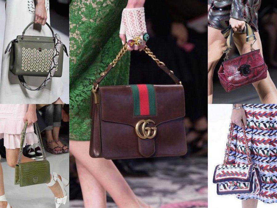 Le borse icona per la S/S 2016 di Fendi, Gucci, Versace, Chanel e Dior