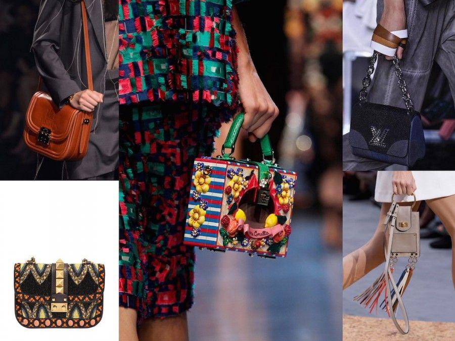 Le borse icona per la S/S 2016 di Dolce e Gabbana, Valentino, Lanvin, Louis Vuitton e Chloè