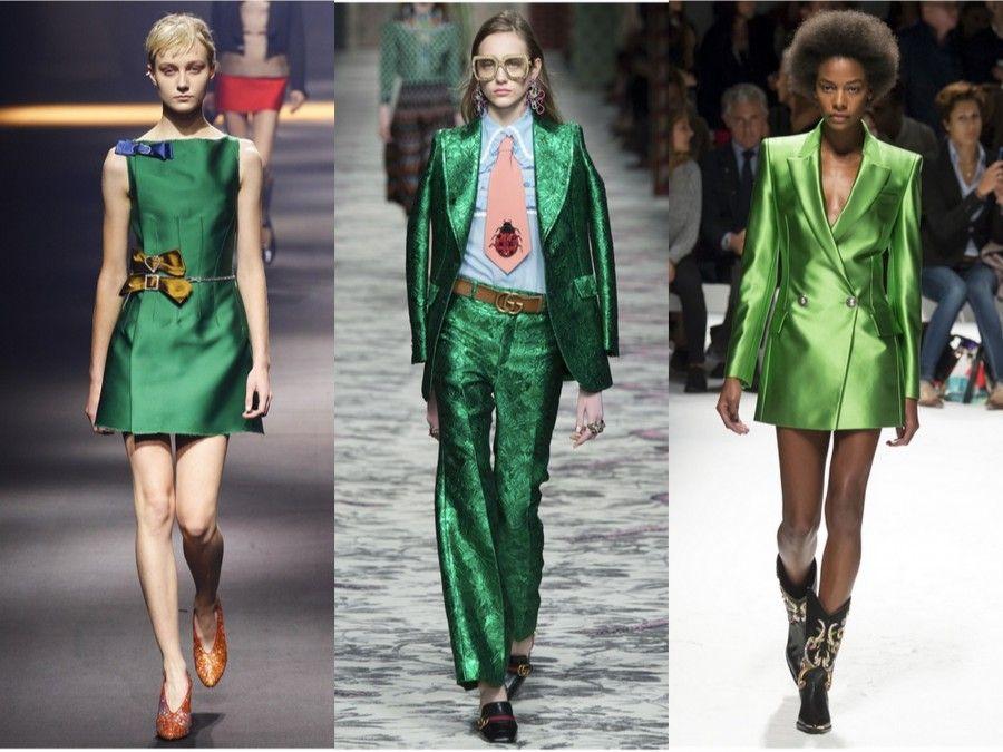 Look dalle sfilate S/S 16 di Lanvin, Gucci e Fausto Puglisi