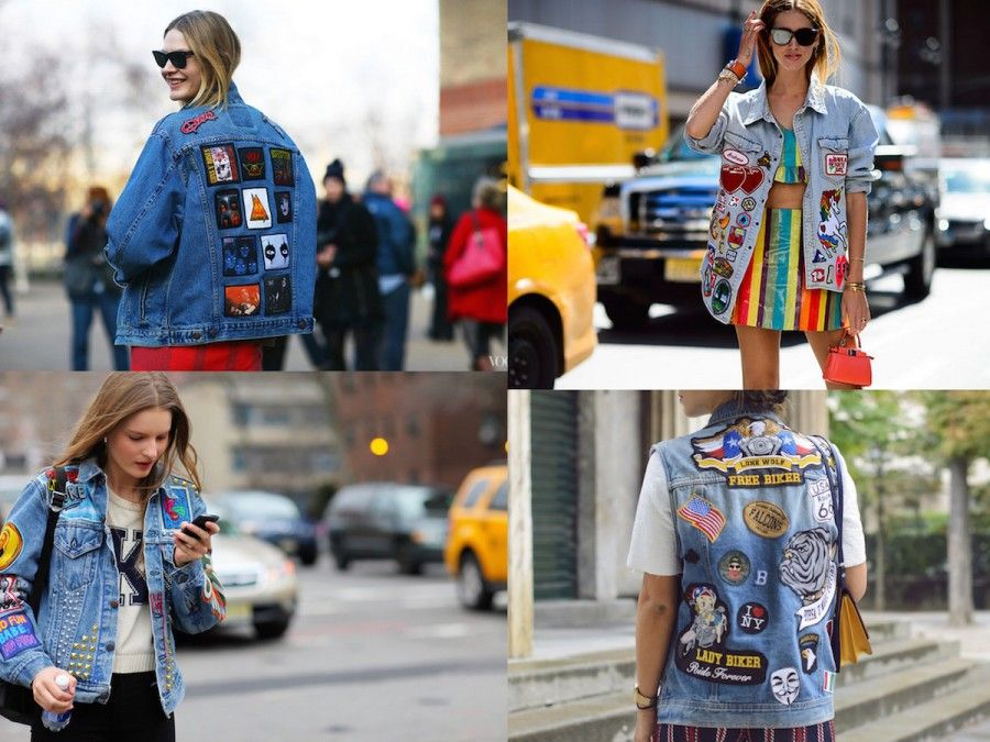 Look Patch dallo street style di New York