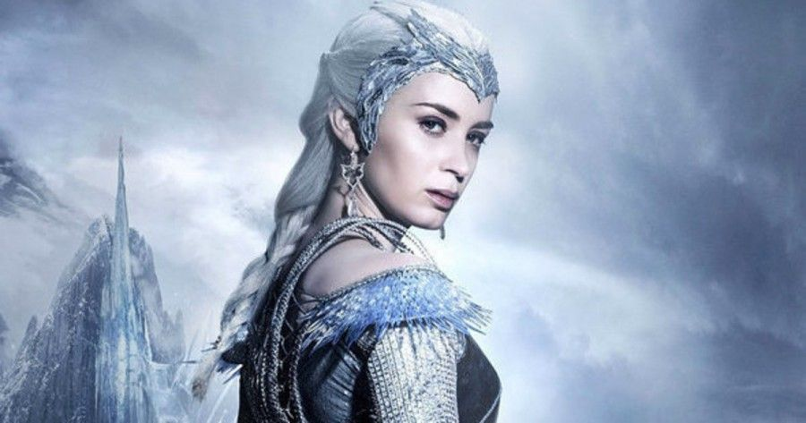 Emily Blunt in Il cacciatore e la regina di ghiaccio