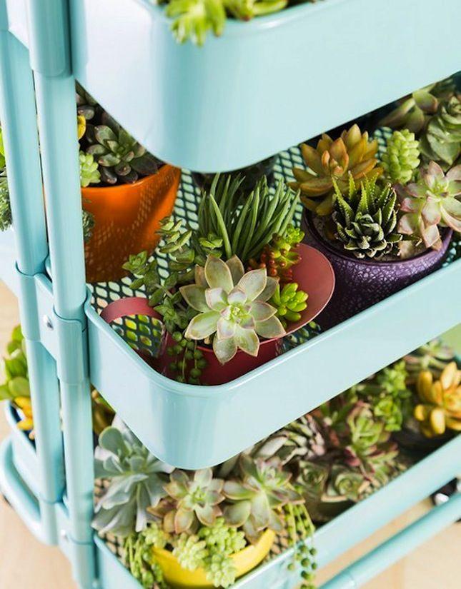 10 soluzioni ikea per arredare casa con le piante bigodino for Fioriera verticale ikea