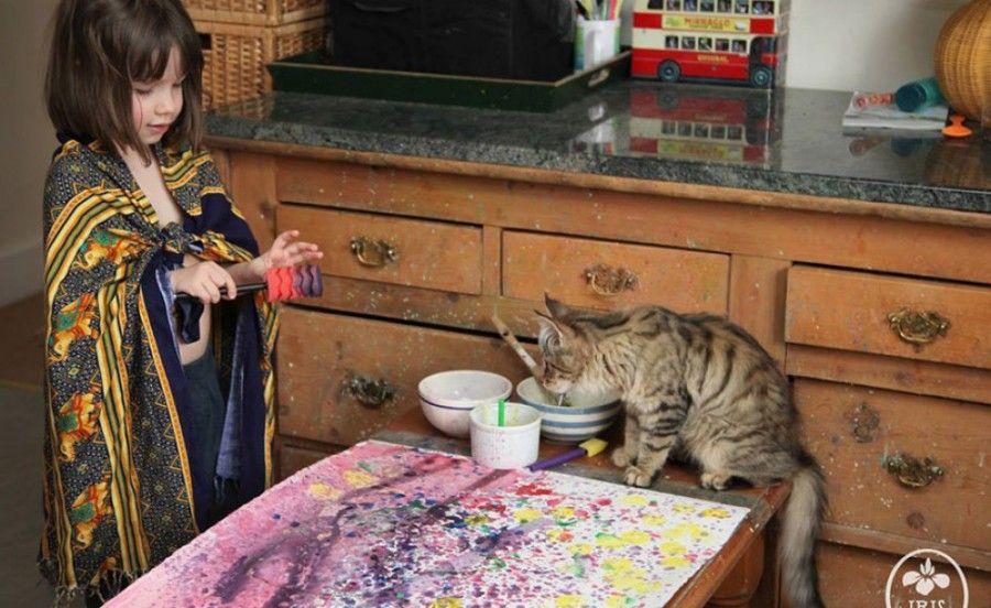 Iris e il gatto
