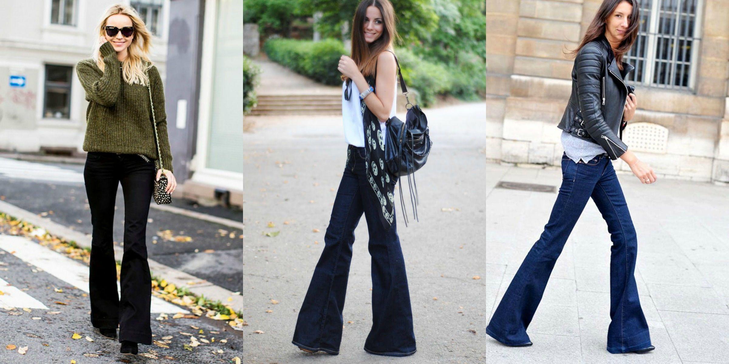 Torna di moda il jeans a zampa di elefante (video)