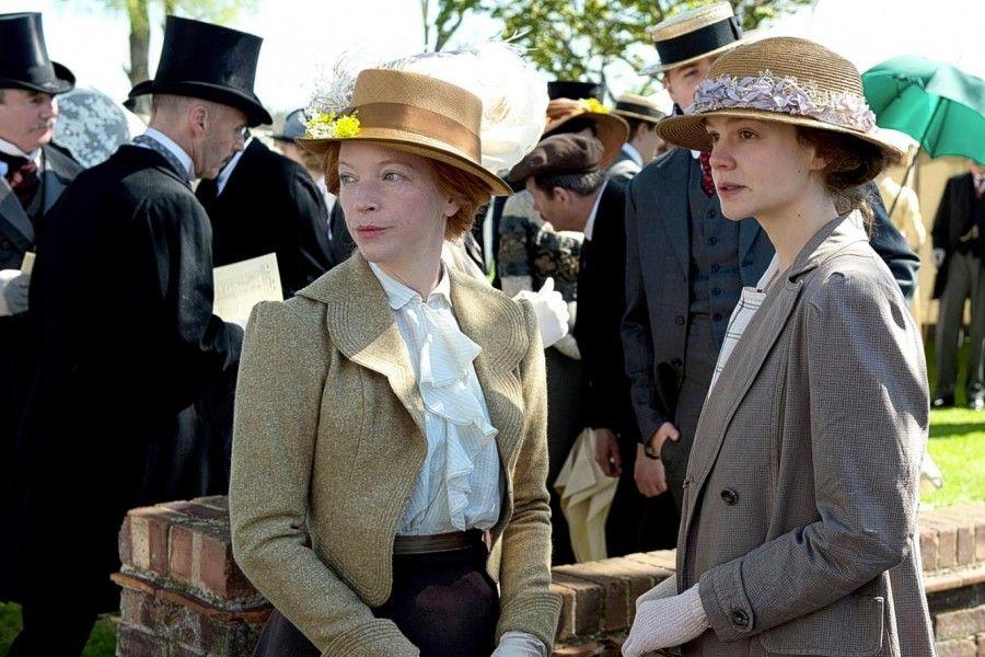 Nathalie Press e Carey Mulligan in Suffragette