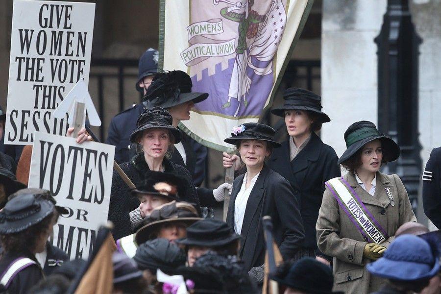 Foto di scena del film Suffragette