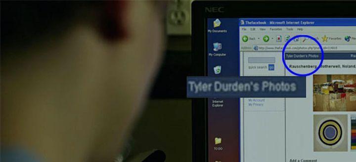 Tyler Durden su Facebook