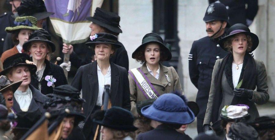 Una scena da Suffragette