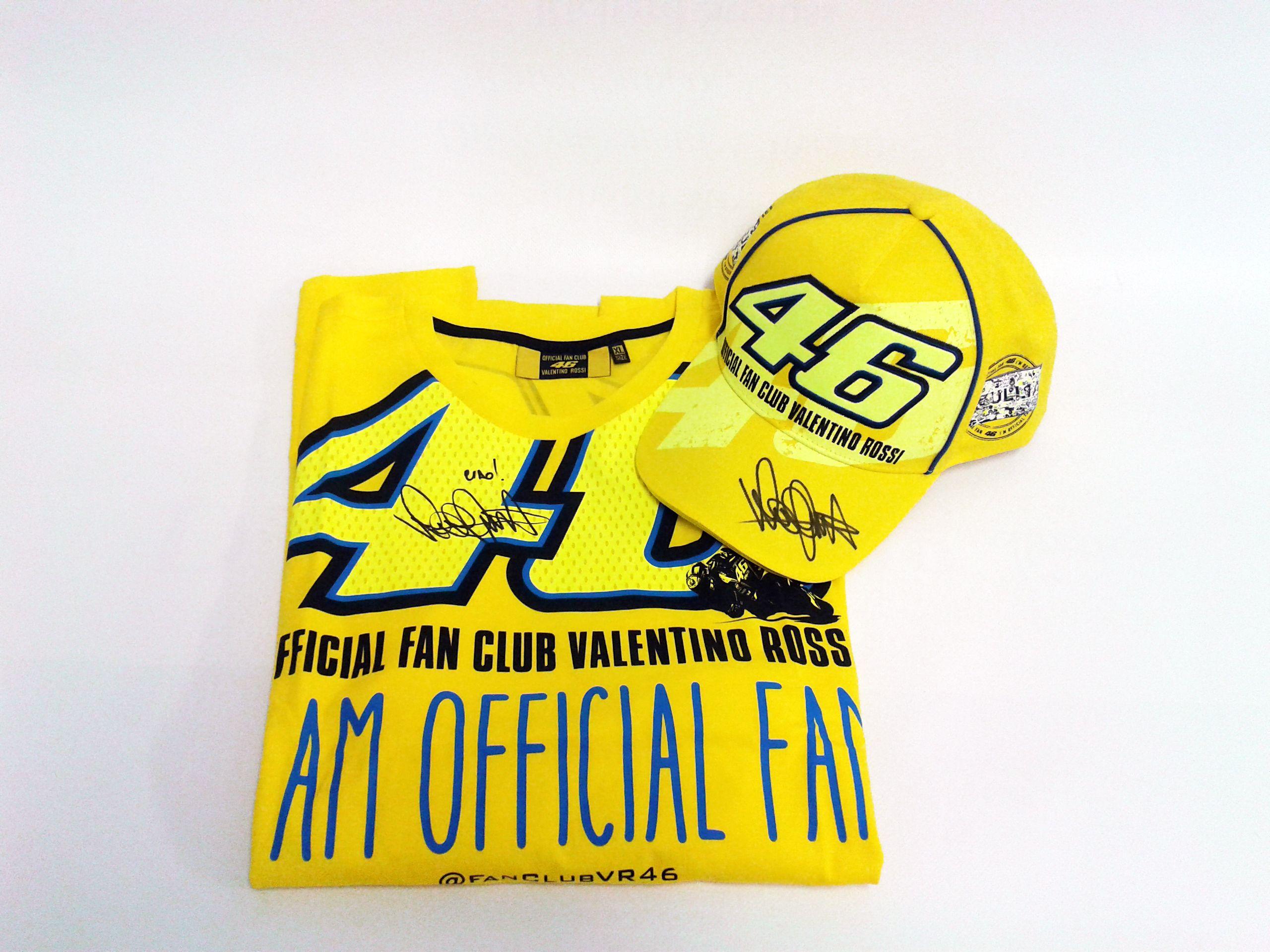 Valentino Rossi_maglia e cappello