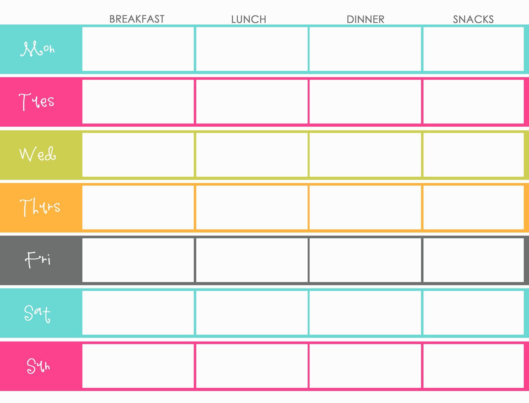 Weekly Meal Planner2