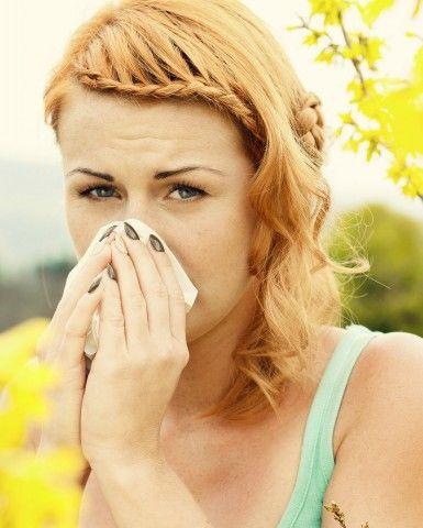 Così come le allergie!
