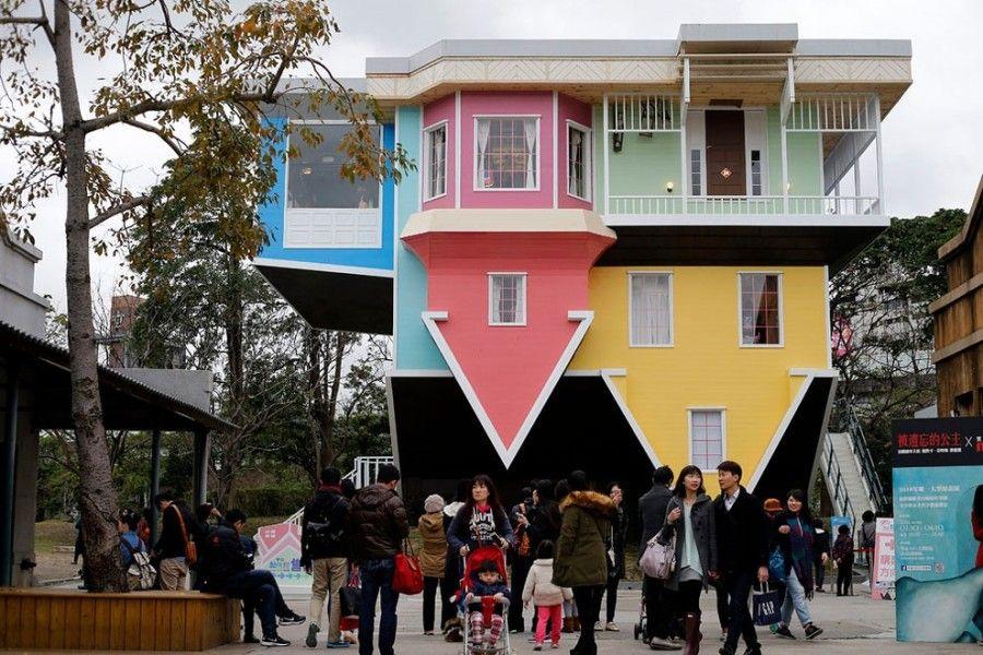 Una casa sottosopra a taipei bigodino for Piani di casa sotto 1500 piedi quadrati