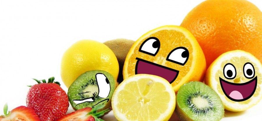 ...e se mangio solo frutta dimagrisco di sicuro, no?