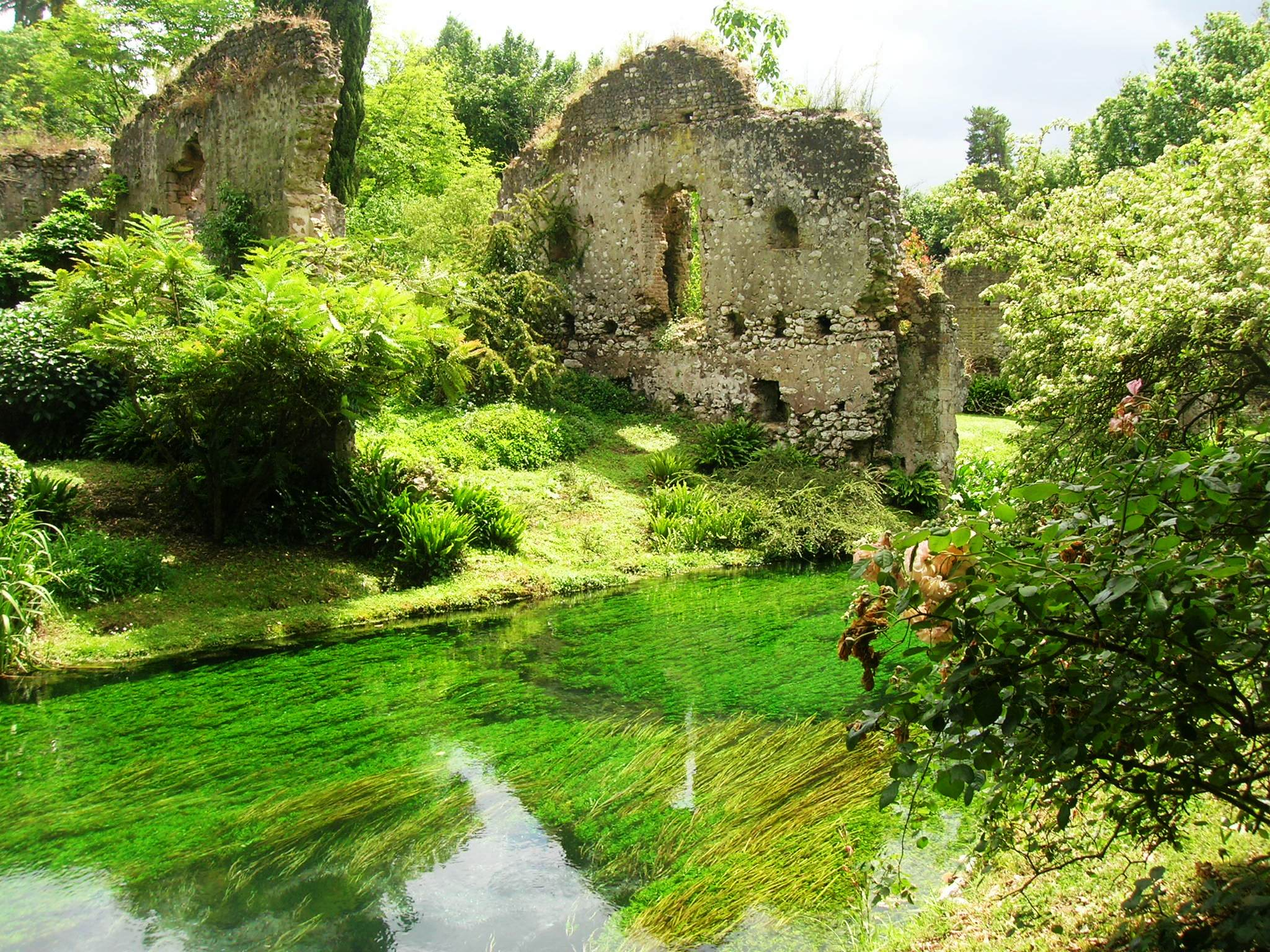 Uno dei giardini pi belli del mondo si trova vicino roma - Giardino in inglese ...