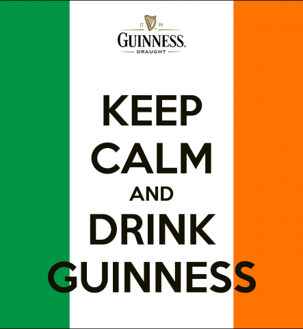 Keep calm and Drink Guinness!