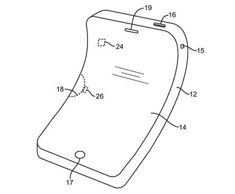Apple brevetta l'iPhone flessibile
