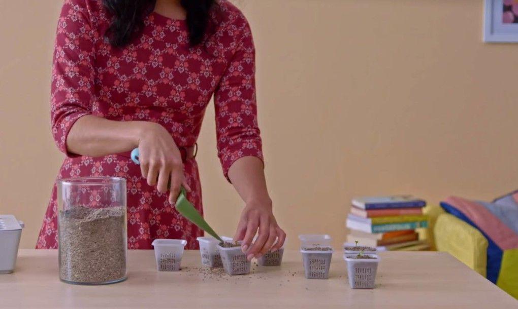 Come usare il kit ikea per fare l 39 orto in casa bigodino - Orto in casa ikea ...