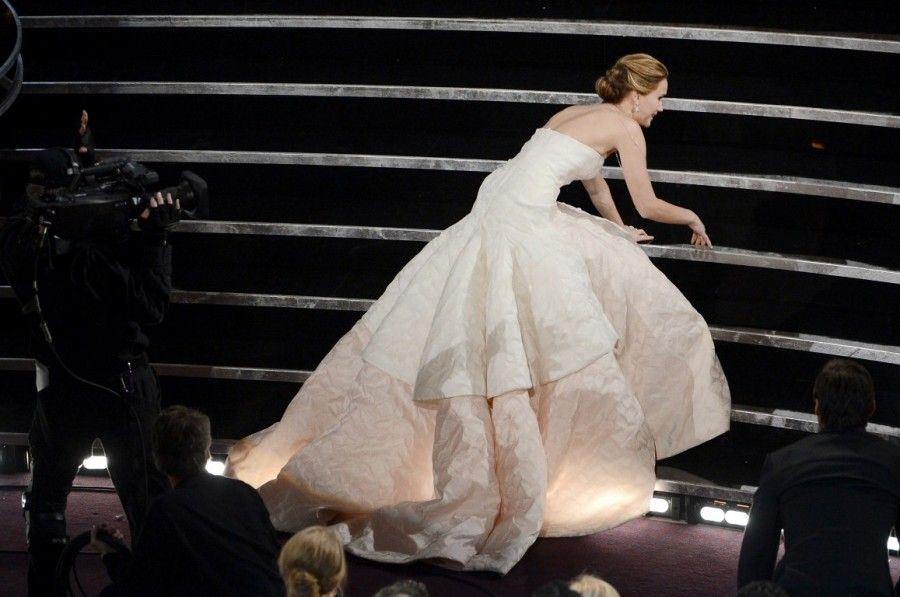 Jennifer Lawrence agli Oscar 2013