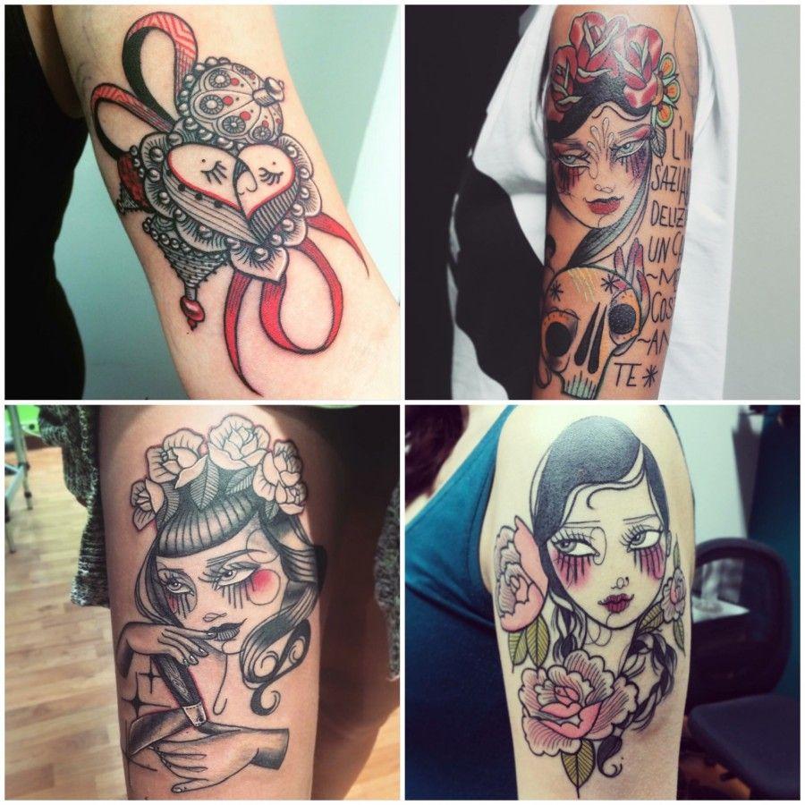 lucreziau tatoo