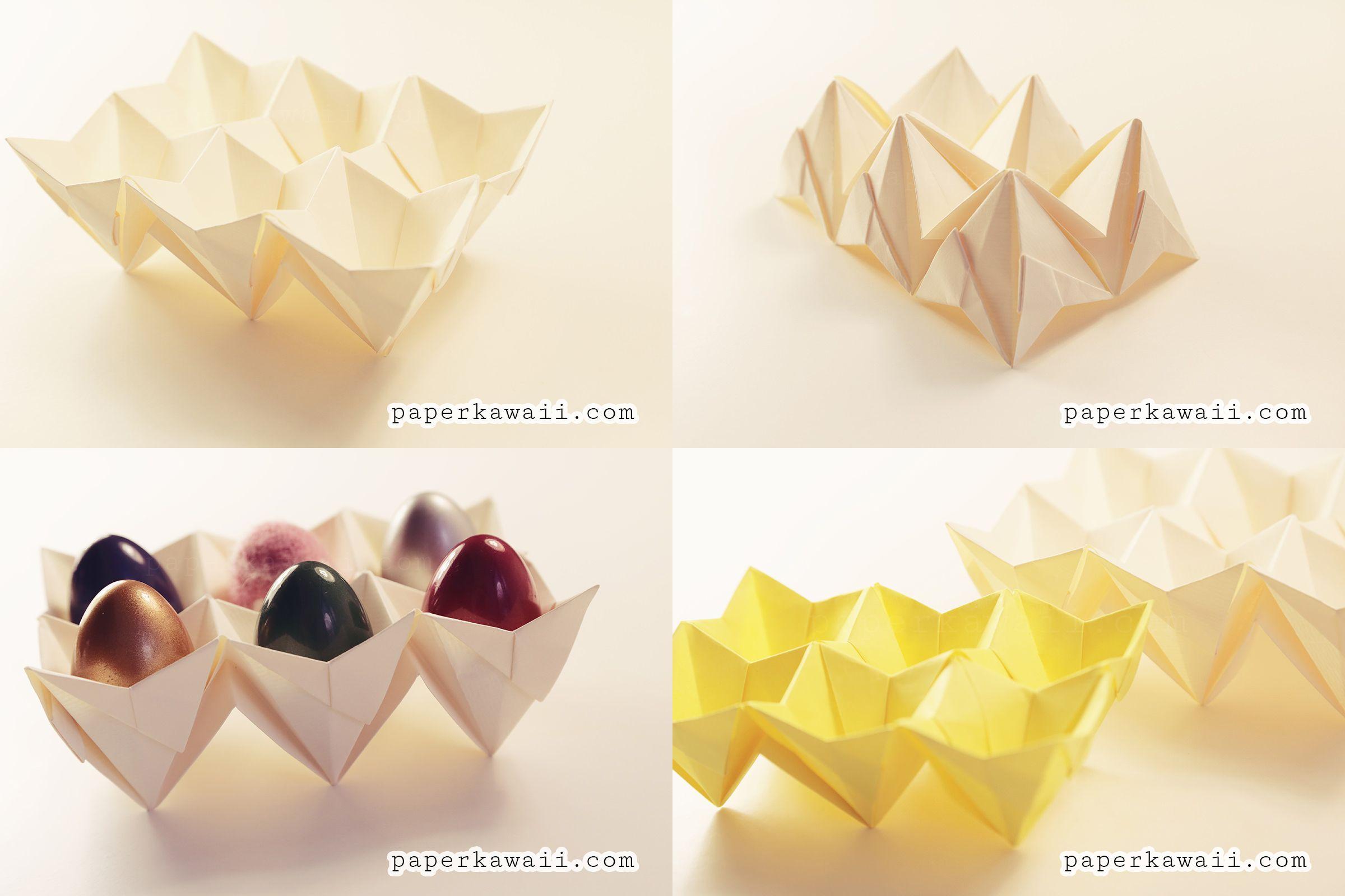 Portauova-origami