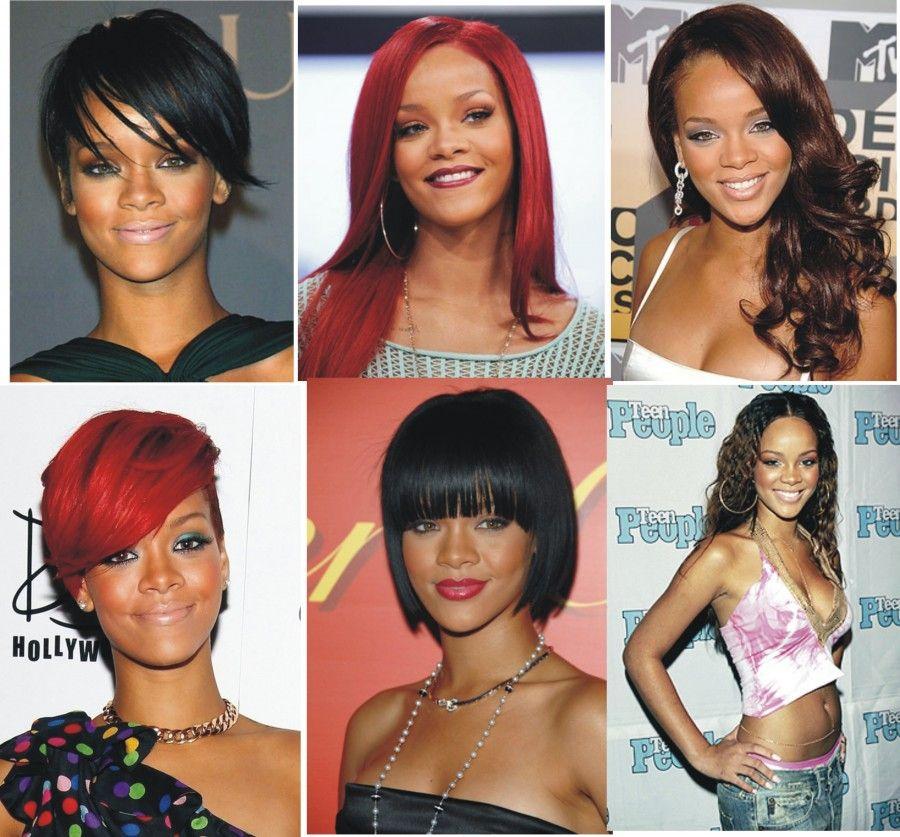 Rihanna trasformista per eccellenza...