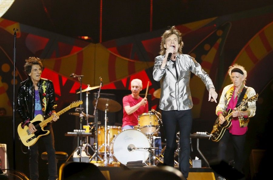 The Rolling Stones in Chile