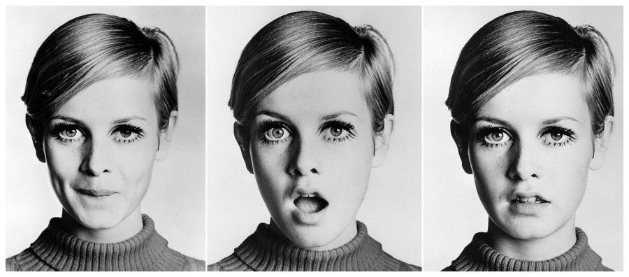 twiggy Collage